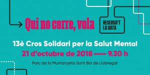 Últims dies per inscriure's al 13è Cros Solidari per la Salut Mental: cada quilòmetre, un pas endavant