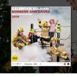 """Ja està a la venda la 7a edició del calendari solidari """"Bombers amb causa"""" 2018!"""