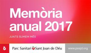 Memòria anual 2017