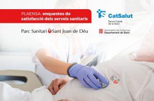 Les persones ateses a l'Hospital General del Parc Sanitari Sant Joan de Déu valoren amb un notable el servei rebut