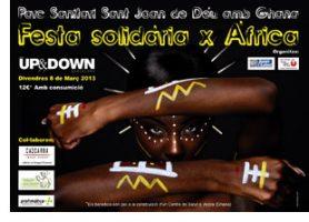 Festa solidària. El Parc Sanitari amb Ghana