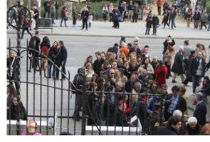 Professionals del Parc Sanitari visiten la Sagrada Família