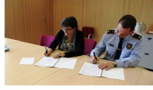 El Parc Sanitari signa un protocol d'actuació amb els cossos de seguretat