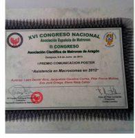 Professionals de l'àrea obstètrica de l'Hospital General, premiades
