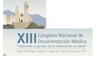 XIII Congrés Nacional de Documentació Mèdica