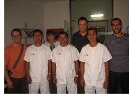 Germans Agustins realitzen pràctiques al Parc Sanitari Sant Joan de Déu