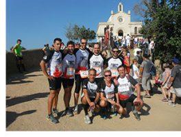 Running Parc present a la Pujada a Peu a Sant Ramón