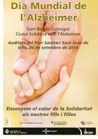 Jornada amb motiu del Dia Mundial de l'Alzheimer