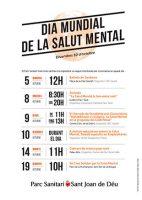 Activitats al Parc Sanitari per commemorar el Dia Mundial de la Salut Mental
