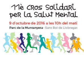 El Cros Solidari per la Salut Mental de la vila de Sant Boi arriba a la seva 11ena edició el proper 9 d'octubre