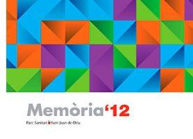 Memòria 2012 del Parc Sanitari Sant Joan de Déu