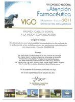 Premi Joaquín Bonal a la Millor Comunicació Oral