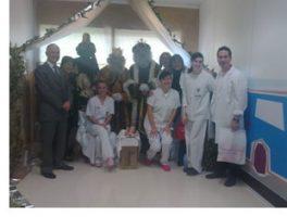 Els Reis Mags de l'Orient porten l'alegria a l'Hospital General