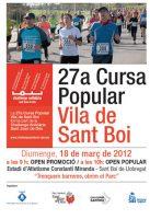 27ª Cursa Popular Vila de Sant Boi