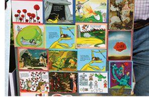 Les roses, els llibres i l'originalitat, protagonistes al Parc Sanitari durant la Diada de Sant Jordi