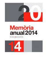 Memòria 2014 del Parc Sanitari Sant Joan de Déu