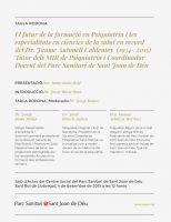 El Parc Sanitari Sant Joan de Déu ret homenatge al Dr. Jaume Autonell
