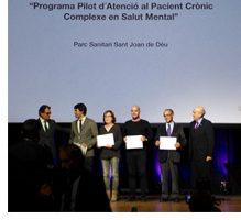 El Programa del Pacient Crònic Complex en Salut Mental, premiat