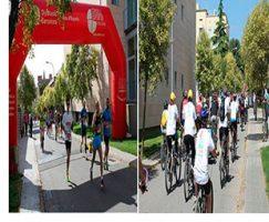 El Parc Sanitari present en la 31ª Cursa Popular de sant Boi i en la 35ª Passejada amb bicicleta