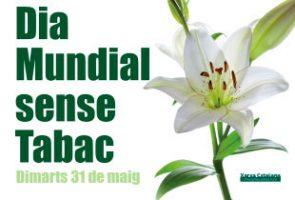 El Parc Sanitari Sant Joan de Déu se suma a la commemoració del Dia Mundial Sense Tabac demà 31 de maig