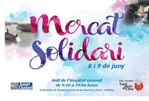 Arriba la 3a Edició del Mercat Solidari al Parc Sanitari Sant Joan de Déu