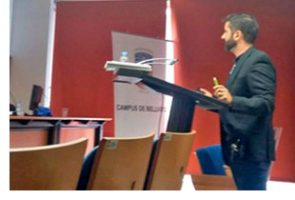 """Jordi Quílez, adjunt a la Direcció d'Infermeria del Parc Sanitari, obté la distinció cum laude per la seva tesi doctoral """"Variables predictives de violència en pacients diagnosticats d'esquizofrènia ingressats en un hospital psiquiàtric"""""""