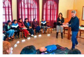 L'àrea d'infermeria del Parc Sanitari culmina un projecte de formació de 3 anys de durada amb l'Hospital Cristo de las Américas de Sucre