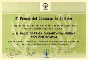 Dos professionals de la Unitat d'Hospitalització Psiquiàtrica Penitenciaria de Catalunya, premiats
