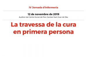 Les cures en primera persona protagonitzen la IV Jornada d'Infermeria el 12 de novembre