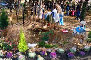 Torna el Pessebre Vivent de Sant Boi als jardins del Parc Sanitari Sant Joan de Déu