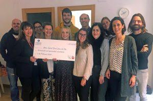 Z Zurich Foundation dona més de 27.000 € al Parc Sanitari Sant Joan de Déu per a un pis de joves en risc d'exclusió social