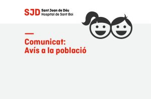 Comunicat relatiu a la població pediàtrica