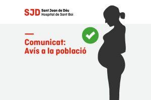 Comunicat relatiu a dones embarassades