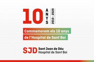 L'Hospital de Sant Boi del Parc Sanitari Sant Joan de Déu celebra el seu desè aniversari