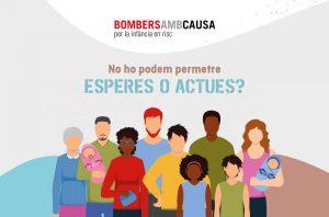 Bombers amb Causa col·labora amb la campanya solidària del Parc Sanitari Sant Joan de Déu